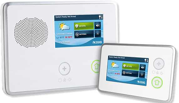 2GIG Security and Home Automation Control Panel